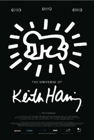 "Poster art for ""The Universe of Keith Haring."""
