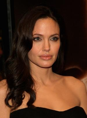 "Angelina Jolie at the New York premiere of ""Changeling."""