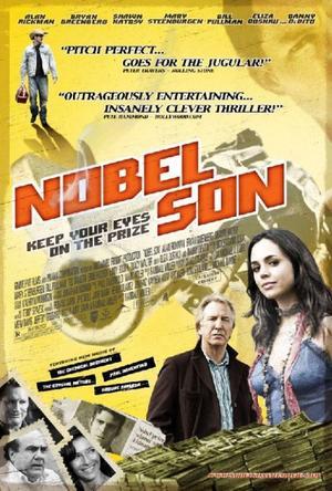 """Poster Art for """"Nobel Son."""""""
