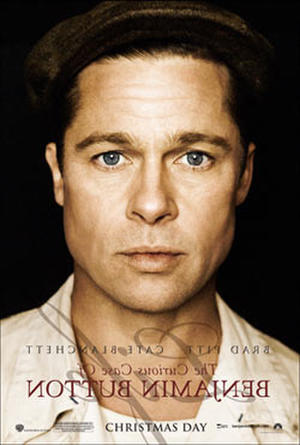 """Poster art for """"The Curious Case of Benjamin Button."""""""