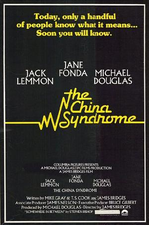 "Poster art for ""The China Syndrome."""
