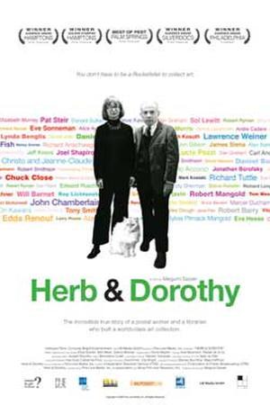 """Poster art for """"Herb & Dorothy."""""""