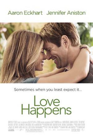 """Poster art for """"Love Happens."""""""