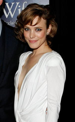 """Rachel McAdams at the New York premiere of """"The Time Traveler's Wife."""""""