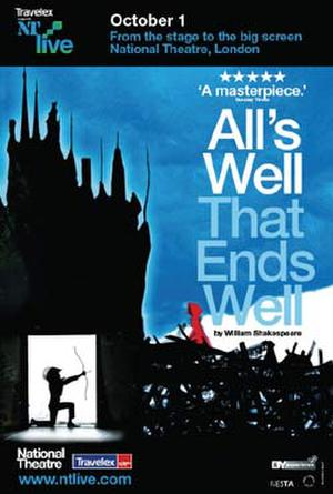 "Poster art for ""NT Live: All's Well that Ends Well."""