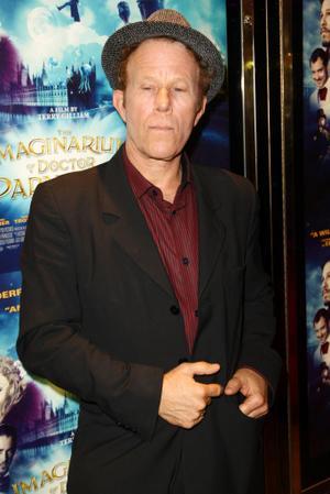 "Tom Waits at the UK premiere of ""The Imaginarium of Doctor Parnassus."""