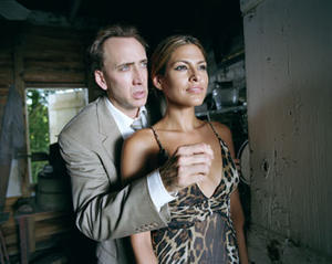 """Terence McDonagh (Nicolas Cage) and Frankie (Eva Mendes) in """"Bad Lieutenant: Port of Call New Orleans."""""""