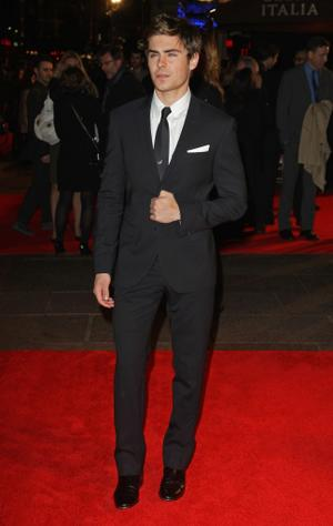 """Zac Efron at the London premiere of """"Me and Orson Welles."""""""