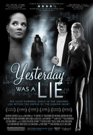 """Poster art for """"Yesterday Was a Lie."""""""
