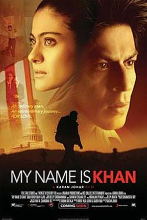 "Poster art for ""My Name Is Khan."""