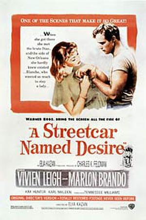 """Poster art for """"A Streetcar Named Desire."""""""
