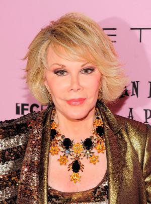 """Joan Rivers at the New York premiere of """"Joan Rivers: A Piece of Work."""""""
