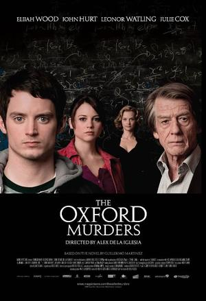 "Poster art for ""The Oxford Murders."""