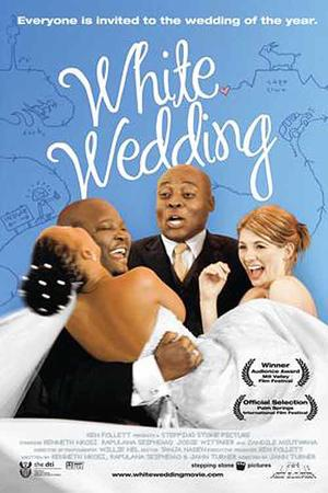 "Poster art for ""White Wedding."""