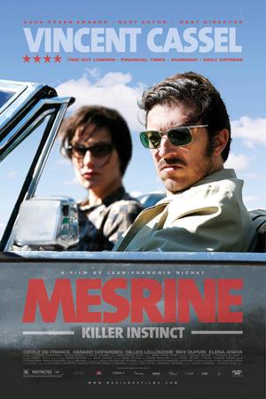 """Poster art for """"Mesrine: Killer Instinct."""""""