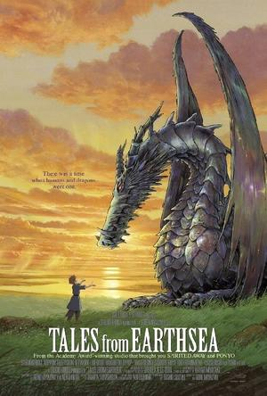 """Poster art for """"Tales From Earthsea."""""""