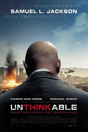 """Poster art for """"Unthinkable"""""""