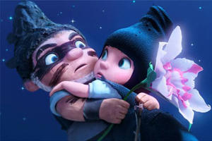 """A scene from """"Gnomeo and Juliet."""""""