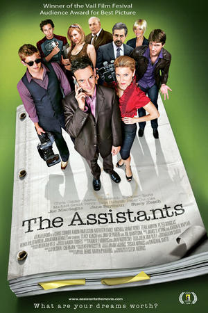 "Poster art for ""The Assistants"""