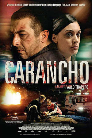 "Poster art for ""Carancho"""