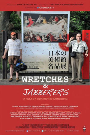 """Poster art for """"Wretches & Jabbers."""""""