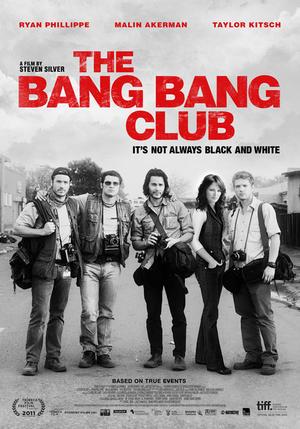 """Poster art for """"The Bang Bang Club."""""""