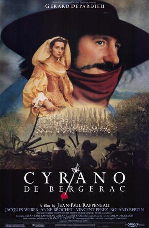 """Poster art for """"Cyrano de Bergerac."""""""