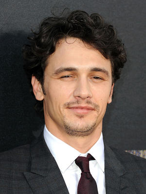 "James Franco at the California premiere of ""Rise Of The Planet Of The Apes."""