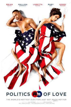 """Poster art for """"Politics of Love."""""""