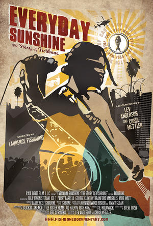 """Poster art for """"Everyday Sunshine: The Story of Fishbone."""""""