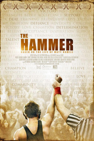"Poster art for ""The Hammer/Hamill."""