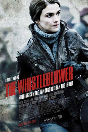 """Poster art for """"The Whistleblower."""""""