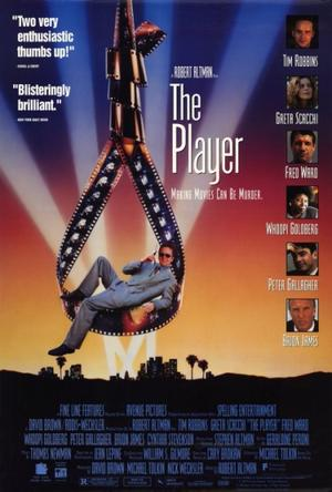 "Poster art for ""The Player."""