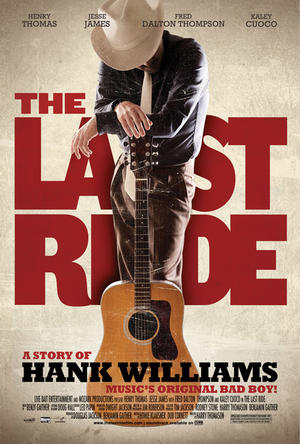 "Poster art for ""The Last Ride."""