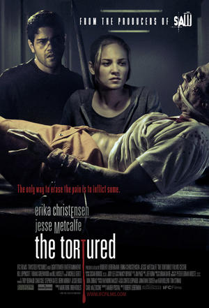 "Poster art for ""The Tortured."""