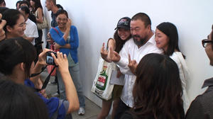 """Ai Weiwei in """"Ai Weiwei: Never Sorry."""""""