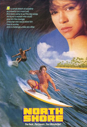 "Poster art for ""North Shore."""