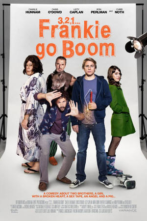 "Poster art for ""Frankie Go Boom."""