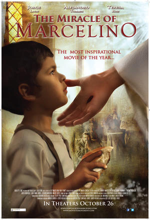 """Poster art for """"The Miracle of Marcelino."""""""