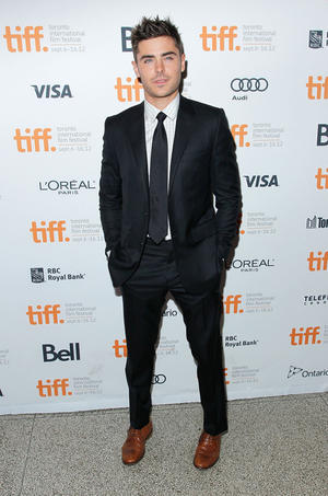 """Zac Efron at the Canada premiere of """"The Paperboy."""""""