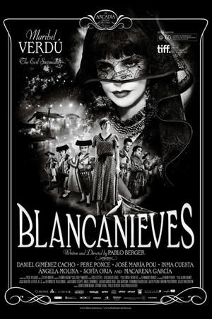 "Poster art for ""Blancanieves."""