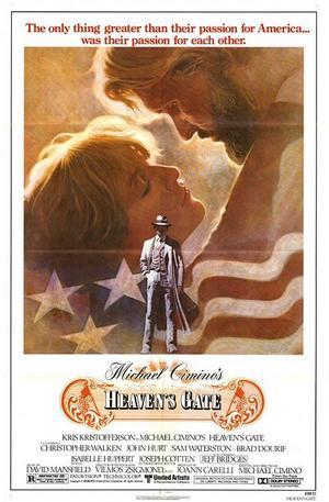 """Poster art for """"Heaven's Gate."""""""