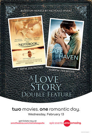 Poster art for A Love Story Double Feature.