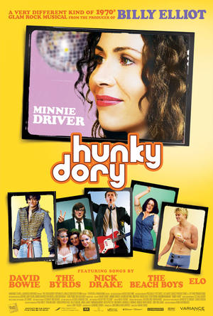 "Poster art for ""Hunky Dory."""