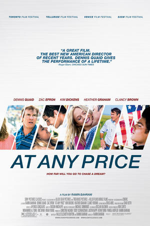 "Poster art for ""At Any Price."""