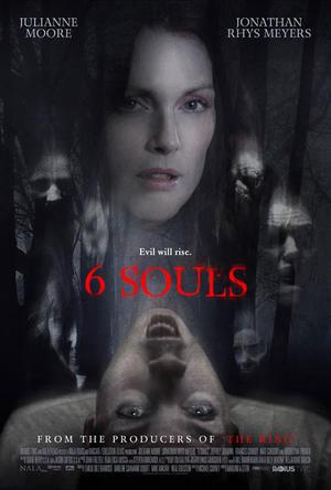 """Poster art for """"6 Souls."""""""