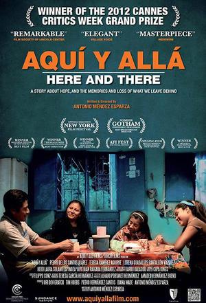 """Poster art for """"Aqui y Alla."""""""