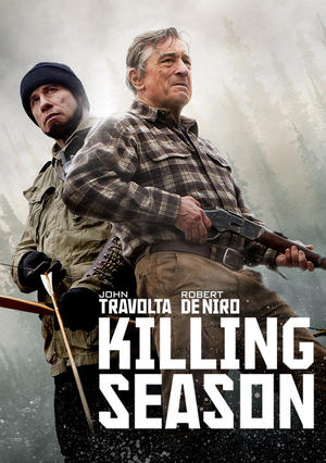 "Poster art for ""Killing Season."""