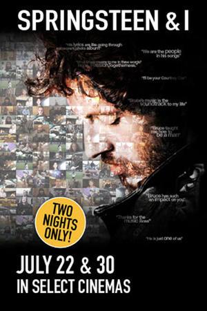 """Poster art for """"Springsteen & I."""""""