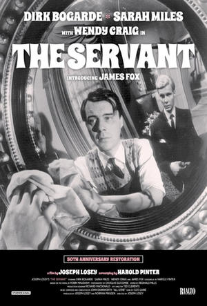 "Poster art for ""The Servant."""